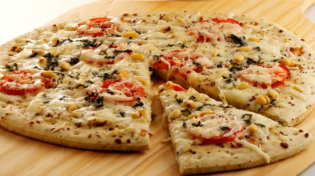 Pizza con queso Provolone, conquistó el paladar argentino