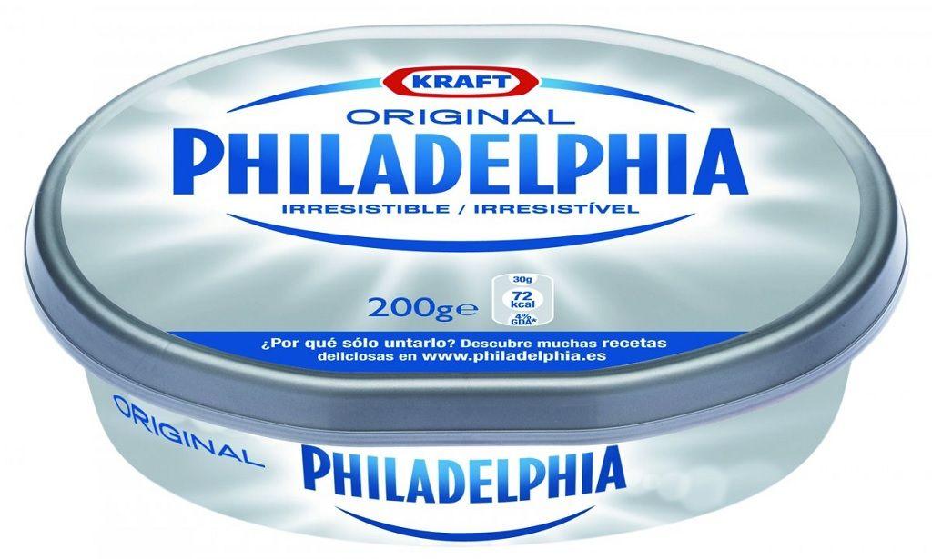 Versión original del Queso Philadelphia